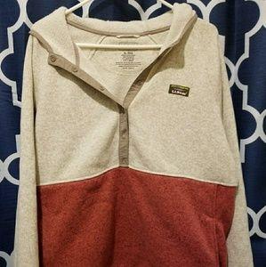 LL Bean hooded sweatshirt